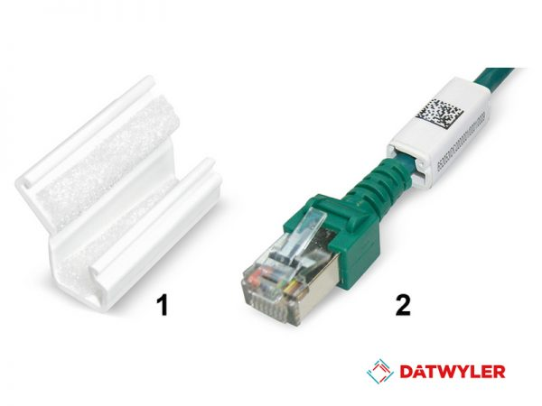 cableado, datwyler, Cable clips 2D