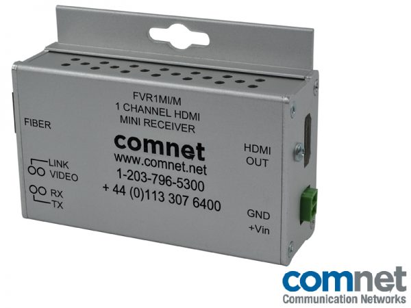 Receptor HDMI 1080p Electronica red COMNET FVR1MI-M
