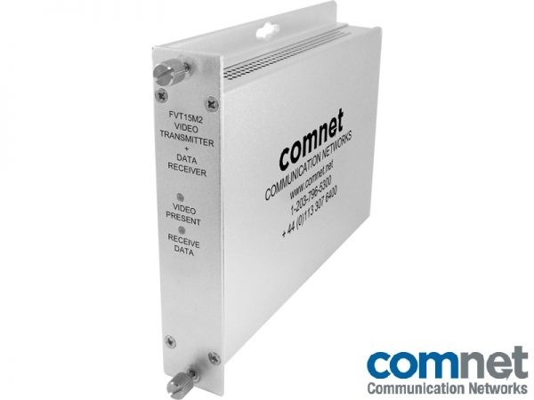 Transmisor video-Receptor datosElectronica red COMNET FVT15M2