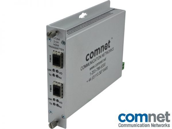 Transmisor 1080p 2 canales Electronica red COMNET FVT2MI