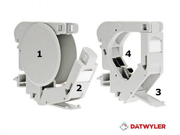 datwyler, Rail adapter Keystone IP20