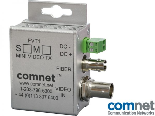 Mini transmisor 1080p Electronica red COMNET FVT1MI-M